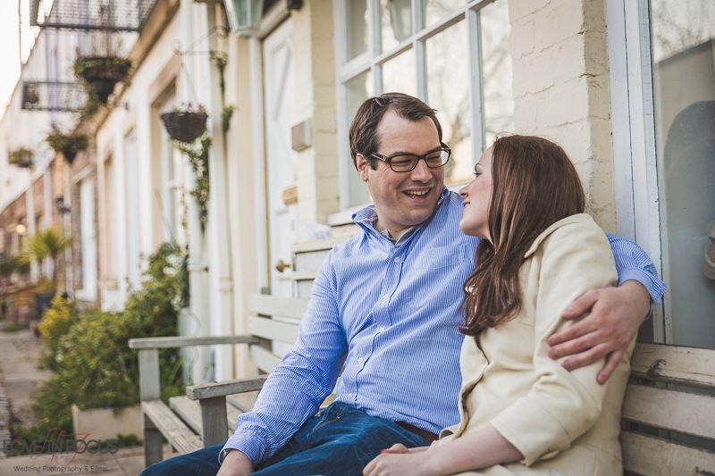 Ciara & Sam's Engagement Shoot at Clifton, Bristol