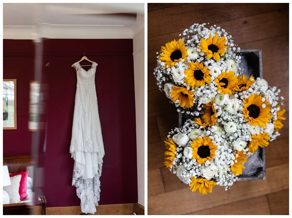 Coombe Lodge bridal preparations