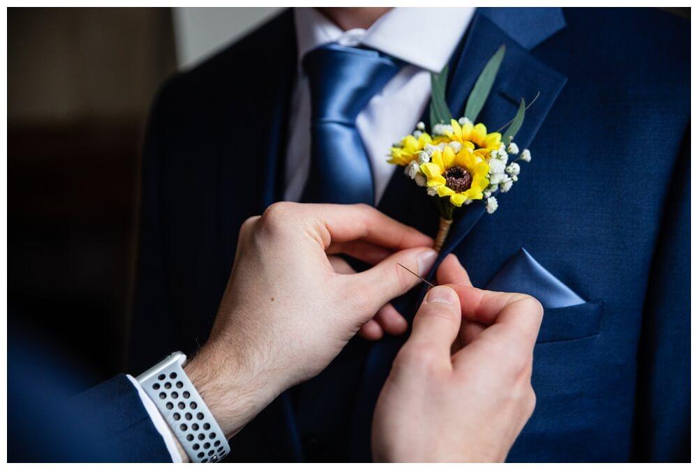 Coombe Lodge groom preparations