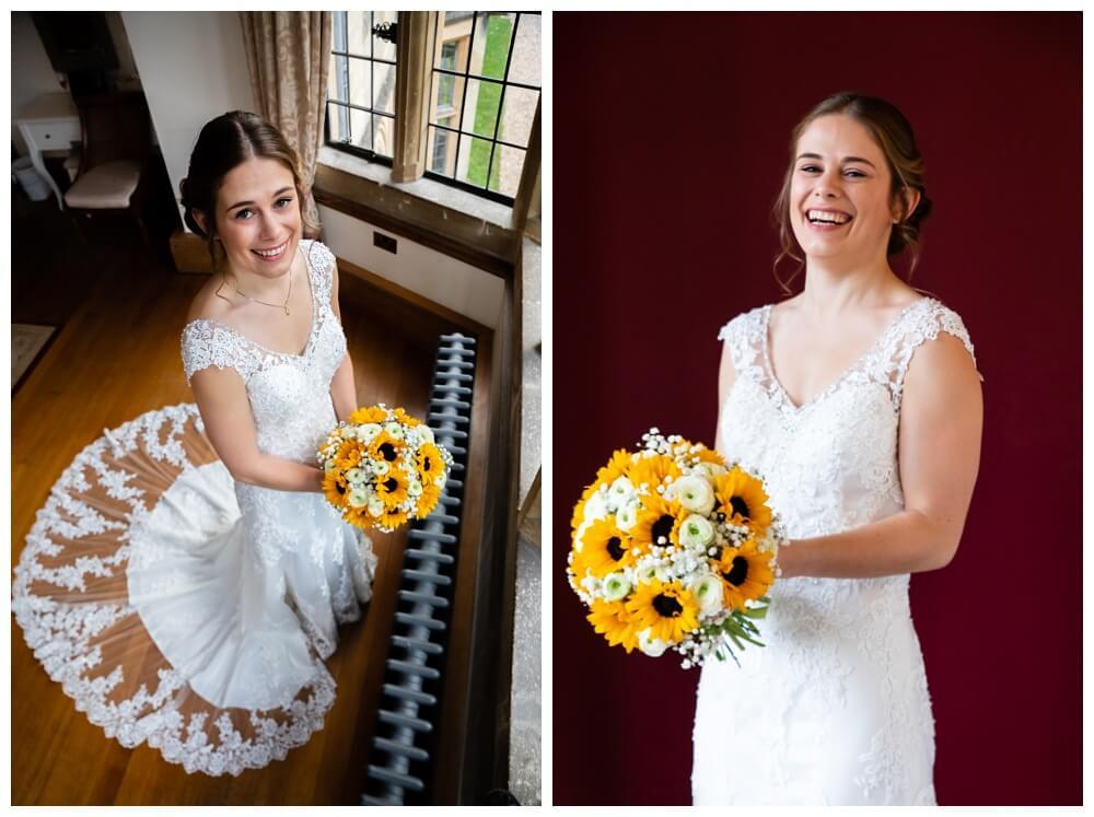 Coombe Lodge bridal portrait