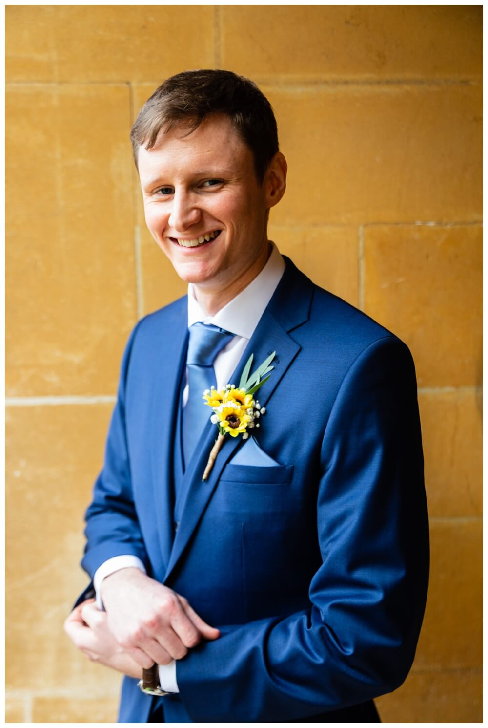 Coombe Lodge groom portrait