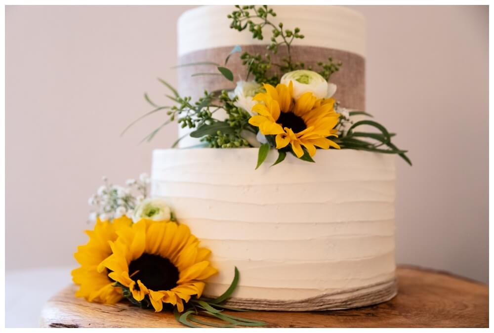 Coombe Lodge wedding cake